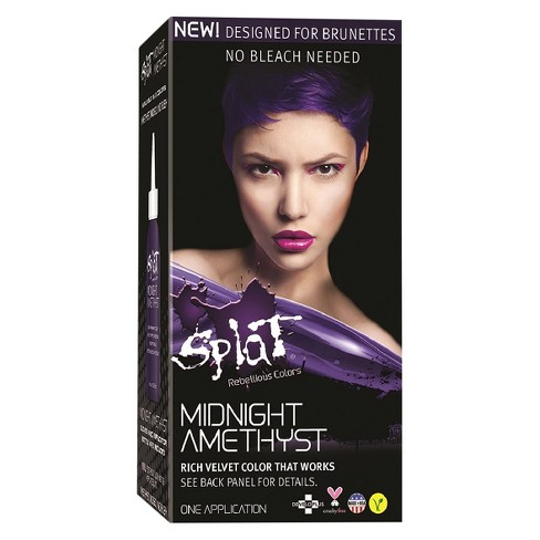 Splat Midnight Hair Color Amethyst 6 0oz