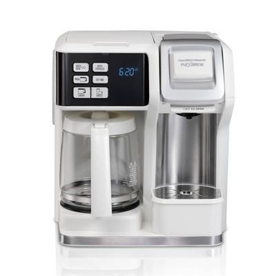 Hamilton Beach FlexBrew 12-Cup Coffee Maker - White