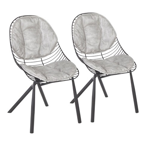Set of 2 Wired Contemporary Chair - Lumisource - image 1 of 4