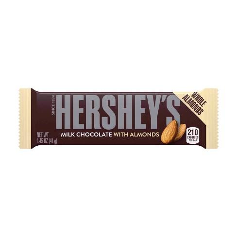 Hershey's Milk Chocolate with Almonds Bar - 1.45oz - image 1 of 4