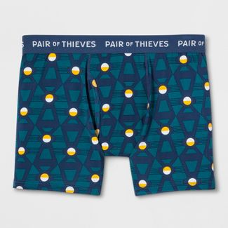 Pair of Thieves Men's SuperFit Boxer Briefs - Teal M