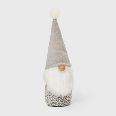Small Gnome Decorative Figure Gray - Wondershop™