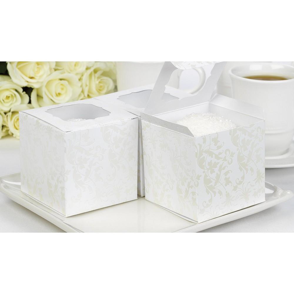 24ct Pearl Wedding Favor Box Coupons
