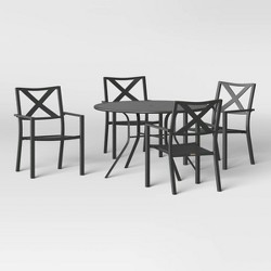 Avalon 5pc Mix & Match Patio Dining Set + Afton