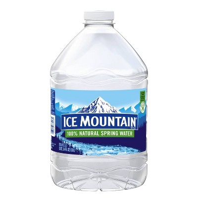 Ice Mountain Brand 100% Natural Spring Water - 101.4 fl oz Jug