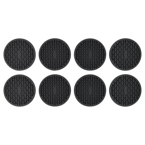 OXO 8PackCoasters Black - image 1 of 3