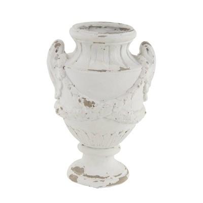 "18"" x 12"" Rustic Distressed Amphora Vase - Olivia & May"