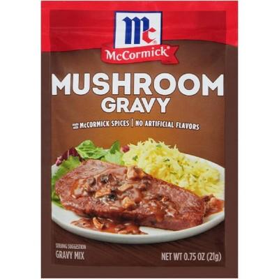 McCormick Mushroom Gravy Mix .75oz