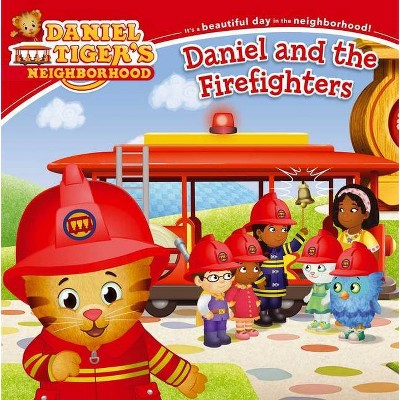 Daniel and the Firefighters - (Daniel Tiger's Neighborhood) (Paperback)