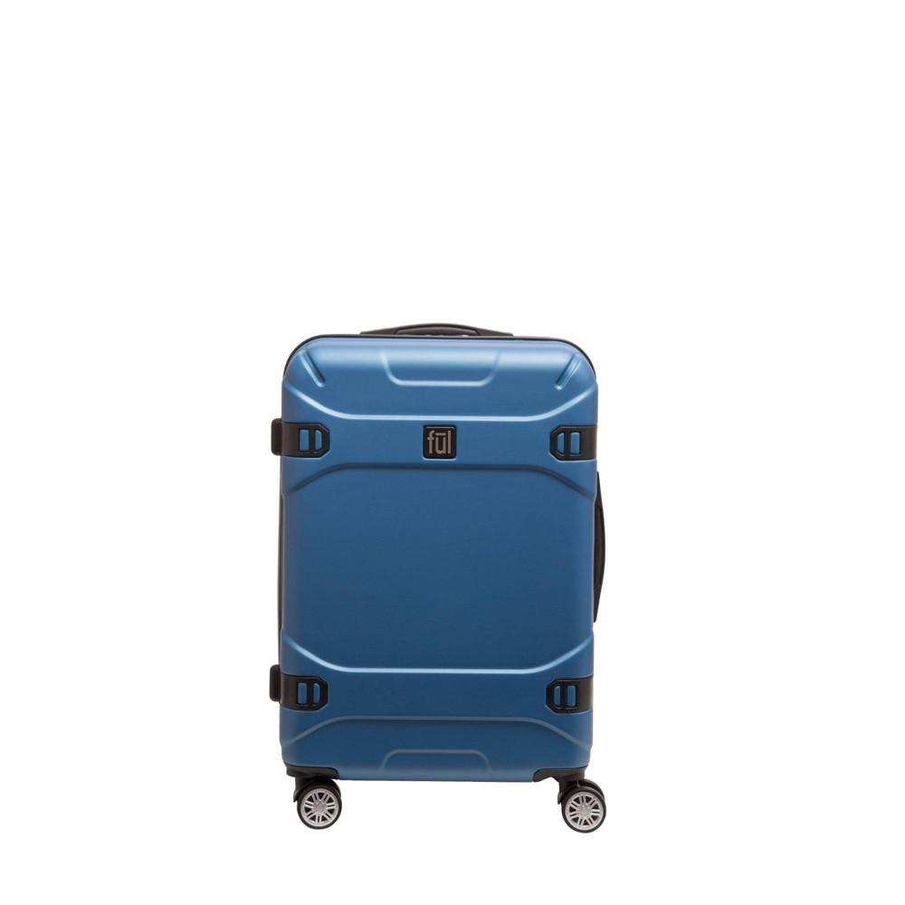 "Image of ""FUL 25"""" Molded Hardside Spinner Suitcase - Blue Sky"""