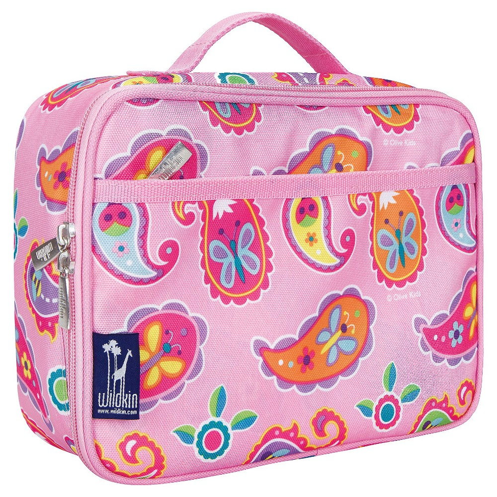 Wildkin Olive Kids Paisley Lunch Box, Pink