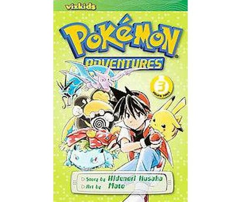 Pokemon Adventures 3 (Paperback) (Hidenori Kusaka) - image 1 of 1