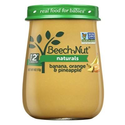 Beech-Nut Naturals Banana, Orange & Pineapple Baby Food Jar - 4oz