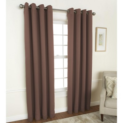 "Lakeside Room Darkening Blackout Triple Layer Curtain Panel - 56""W x 84""L"
