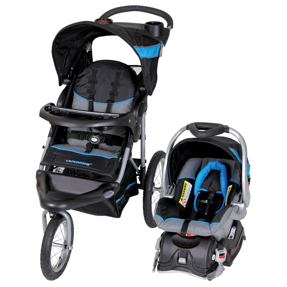 Image of Baby Trend Expedition Travel System - Millennium Blue