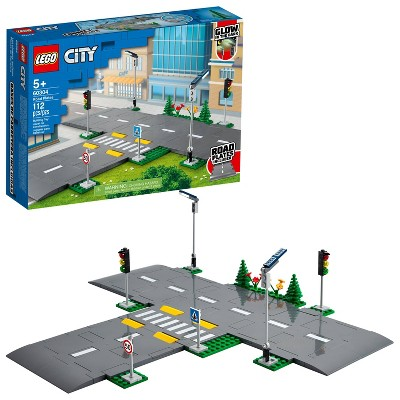 LEGO City Road Plates Building Kit 60304