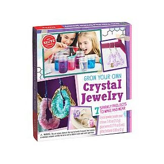 Grow Your Own Crystal Jewelry : 7 Sparkly Projects to Make and Wear (Toy) (Klutz (COR))