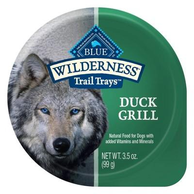 Blue Buffalo Wilderness 100% Grain-Free Wet Dog Food - 3.5oz