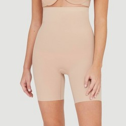 Assets by Spanx Women's Micro High Waist Mid-Thigh Shaper
