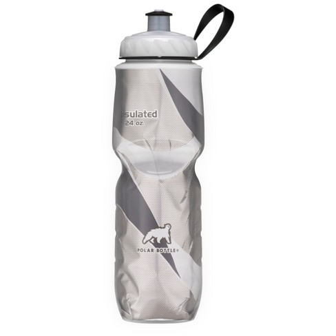 Polar® 24oz Insulated Water Bottle - Dark Gray/Silver - image 1 of 1