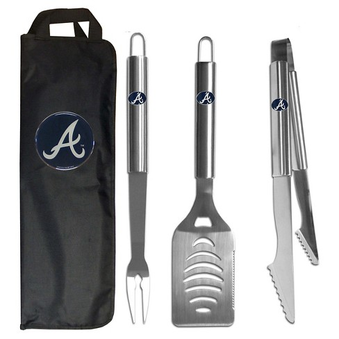 Siskiyou MLB Team 3-Piece BBQ Set with Canvas Case - image 1 of 1