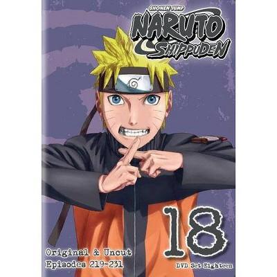 Naruto Shippuden: Box Set 18 (DVD)(2014)