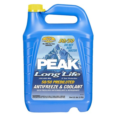 Peak 50/50 Long Life Prediluted Antifreeze & Coolant 1-gal. - image 1 of 1