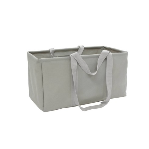 Soft Sided Scrunchable Laundry Basket Spaceship Gray - Room Essentials™ - image 1 of 1