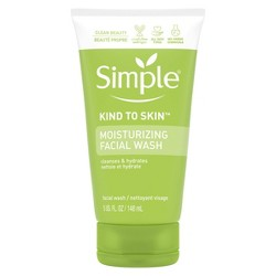 Unscented Simple Moisturizing Facial Wash - 5oz
