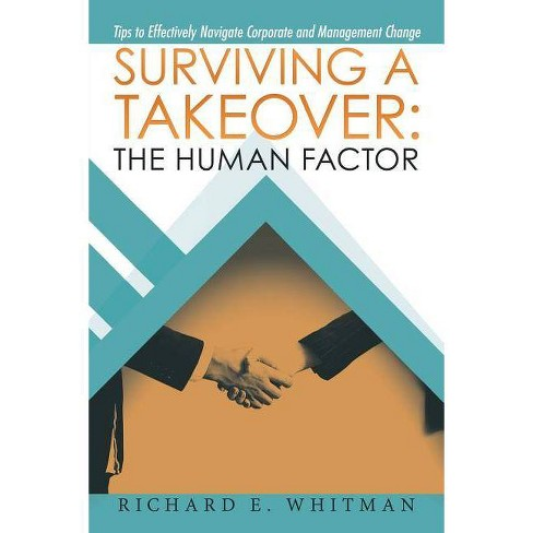Surviving a Takeover - by  Richard E Whitman (Paperback) - image 1 of 1