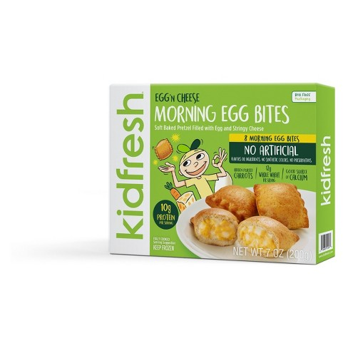Kidfresh Egg & Cheese Frozen Poppin Pretzel Bites - 7oz - image 1 of 1