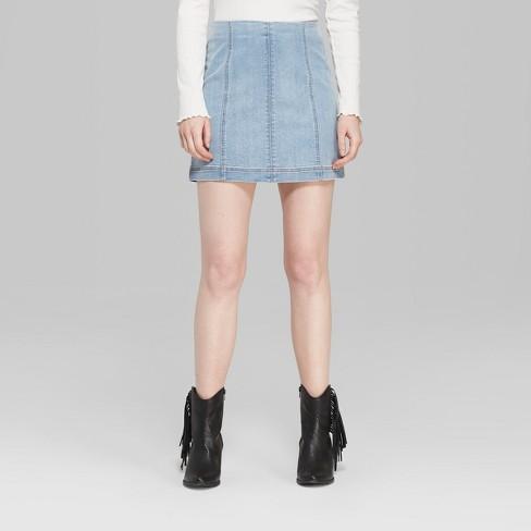 Target Denim Mini Skirt