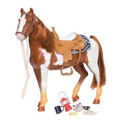 """Our Generation Appaloosa Horse Accessory Set for 18"""" Dolls"""