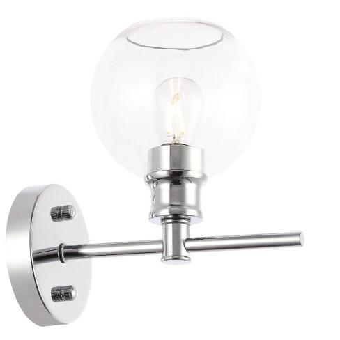 "Elegant Lighting LD2310 Collier Single Light 10"" Tall Bathroom Sconce - image 1 of 4"