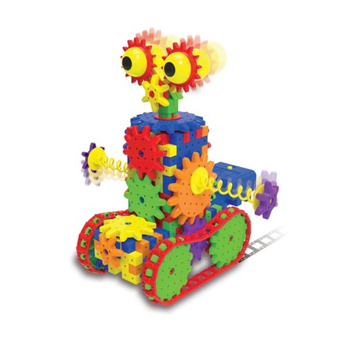 The Learning Journey Techno Gears STEM Construction Set Dizzy Droid 60+ pcs - image 1 of 4