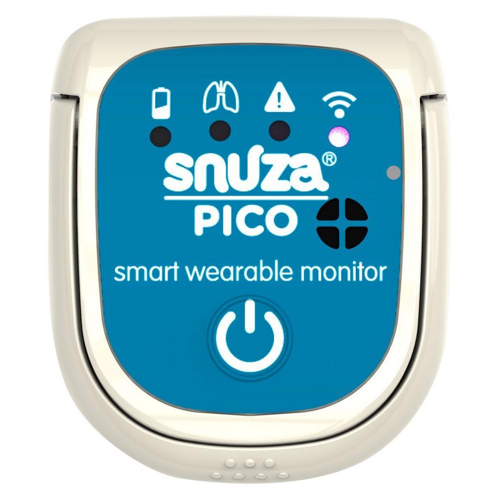 Snuza Pico Smart Wearable Movement Baby Monitor - White, Blue
