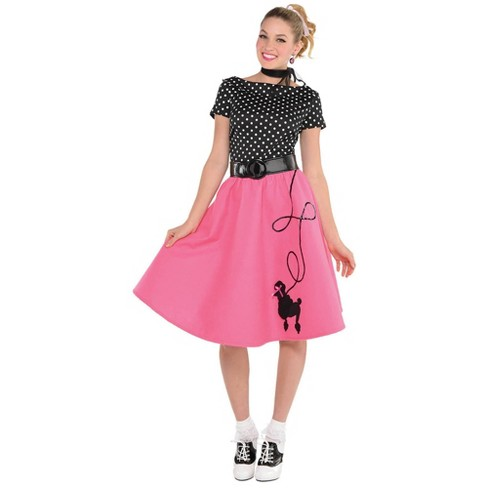 Women's 50's Flair Halloween Costume  - image 1 of 1
