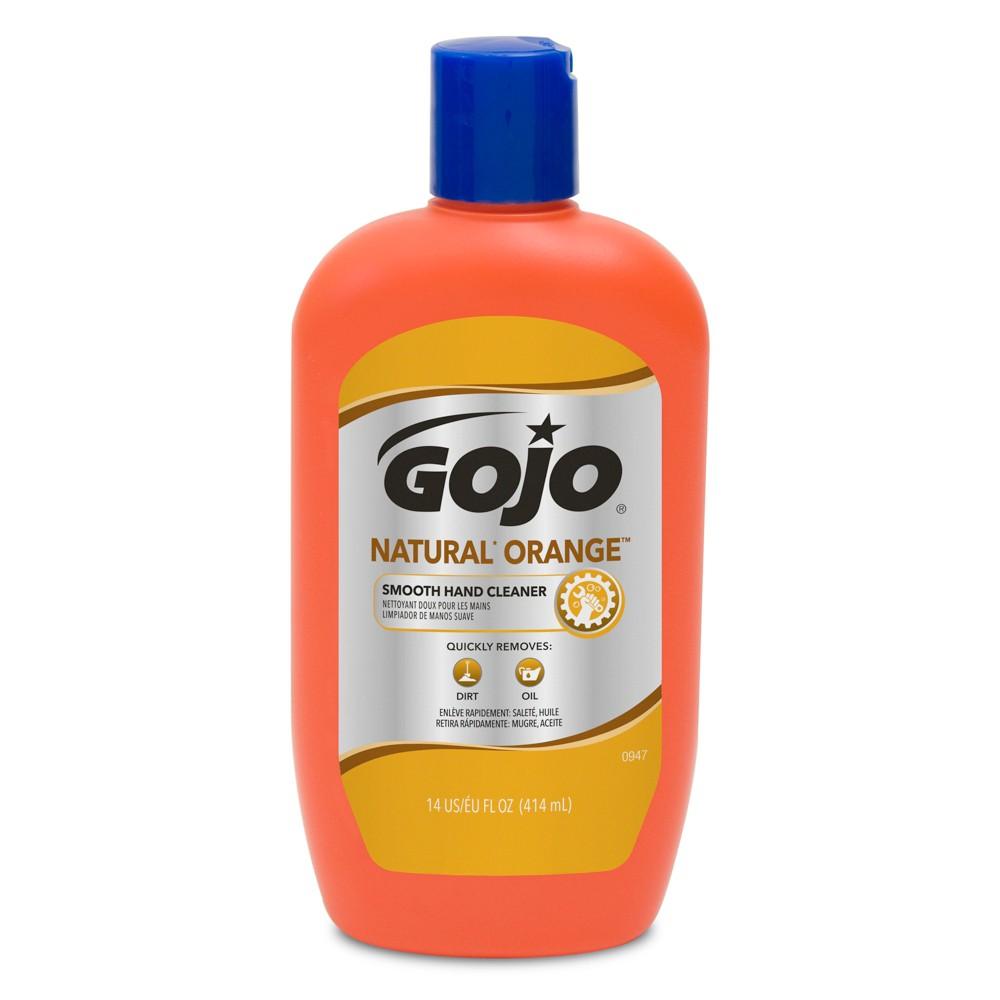 Gojo Natural Orange Smooth Hand Cleaner - 14 fl oz