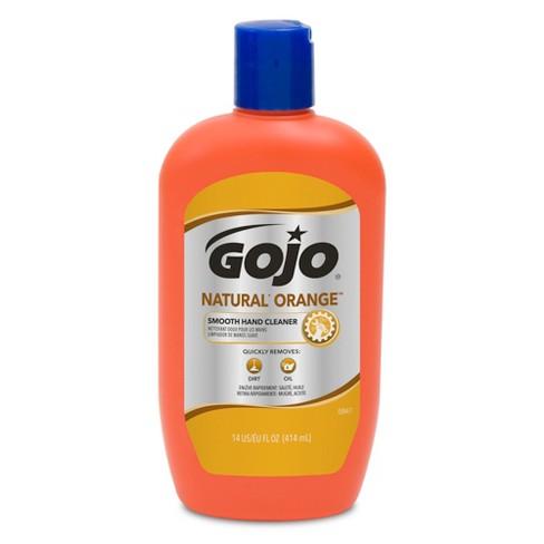 gojo natural orange smooth hand cleaner 14 fl oz target