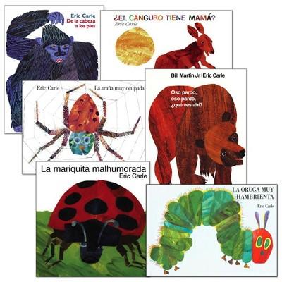 Eric Carle Spanish Books  - Set of 6