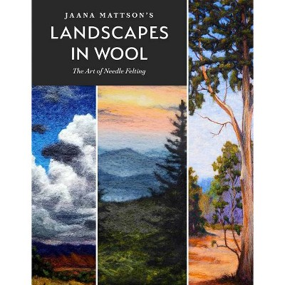 Jaana Mattson's Landscapes in Wool - (Hardcover)