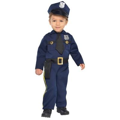 Baby Cop Recruit Halloween Costume