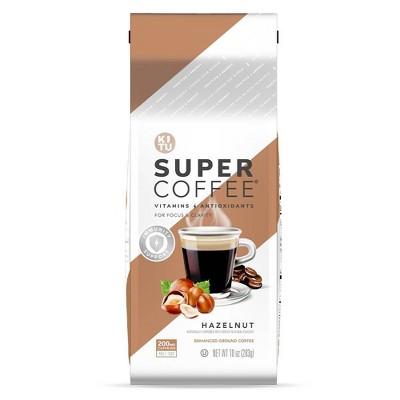 KITU Super Coffee Hazelnut Medium Roast Ground Coffee - 10oz