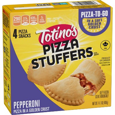 Totino's Pizza Stuffers Pepperoni Frozen Pizza Snacks - 14.1oz/4ct