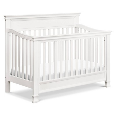 Million Dollar Baby Classic Foothill 4-in-1 Convertible Crib with Toddler Bed Conversion Kit - Warm White