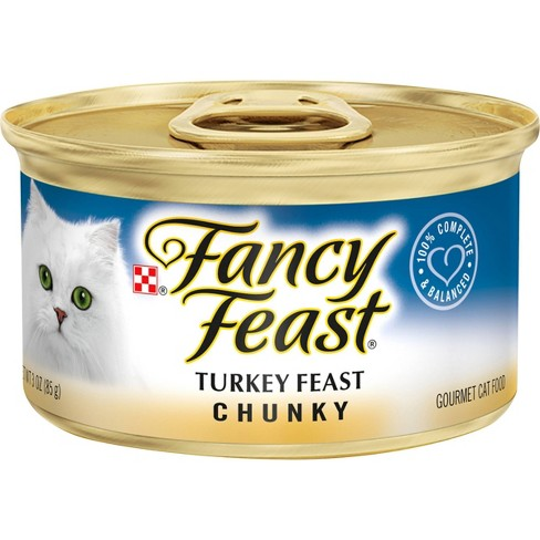 Purina Fancy Feast Chunky Wet Cat Food - 3oz can - image 1 of 4