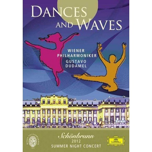 Dudamel / Wiener Philharmoniker: Dances & Waves Schoenbrunn 2012 Summer (DVD) - image 1 of 1