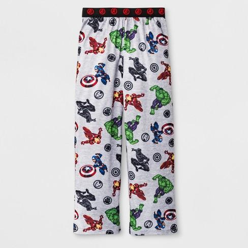 78a5788161c Boys' The Avengers Pajama Pants - Gray