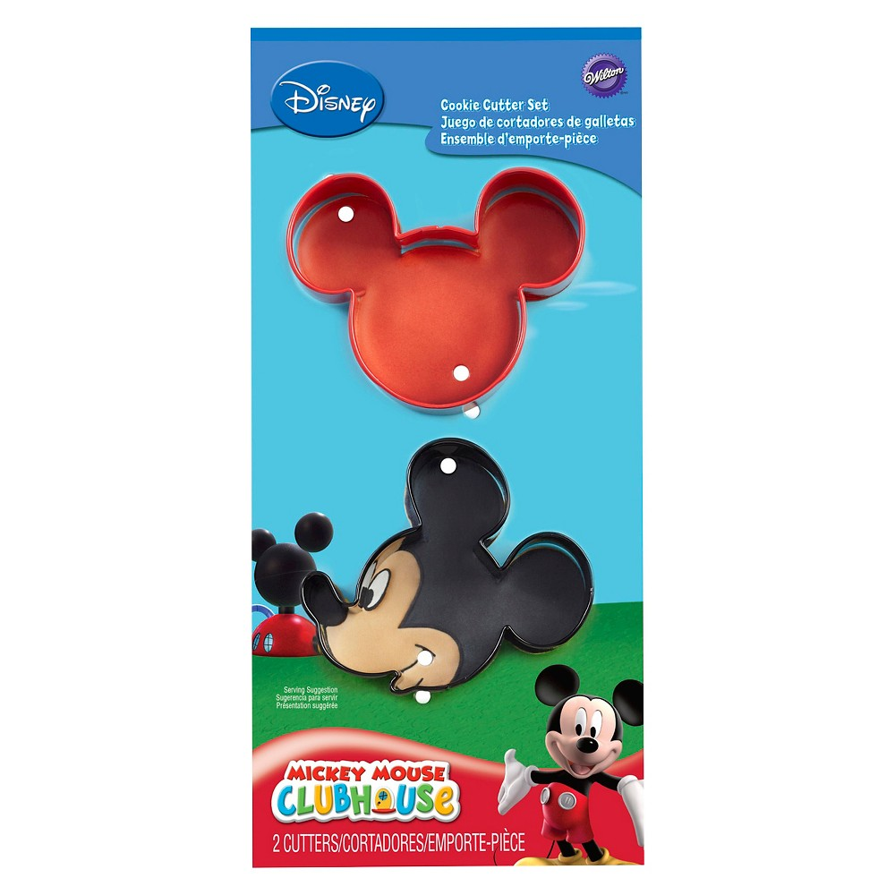 Image of Wilton Mickey Mouse Cookie Cutter Set