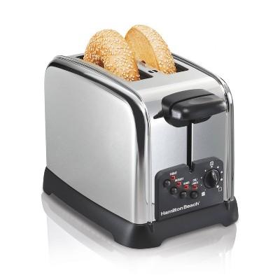 Hamilton Beach 2-Slice Toaster - Silver